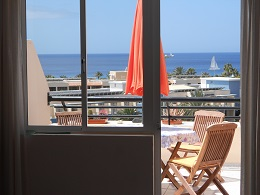 Holiday apartment in Jandia on Fuerteventura with pool.